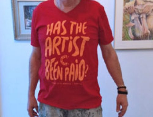 """New """"Has The Artist Been Paid?"""" T-shirts available"""