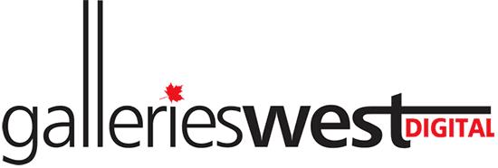 Galleries West Digital logo