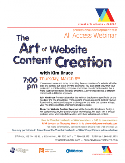 The Art of Website Content Creation with Kim Bruce