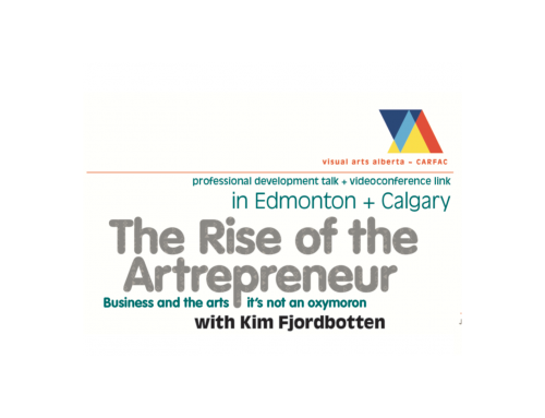 Draw More Income EP18: The Rise of the Artrepreneur w/ Kim Fjordbotten
