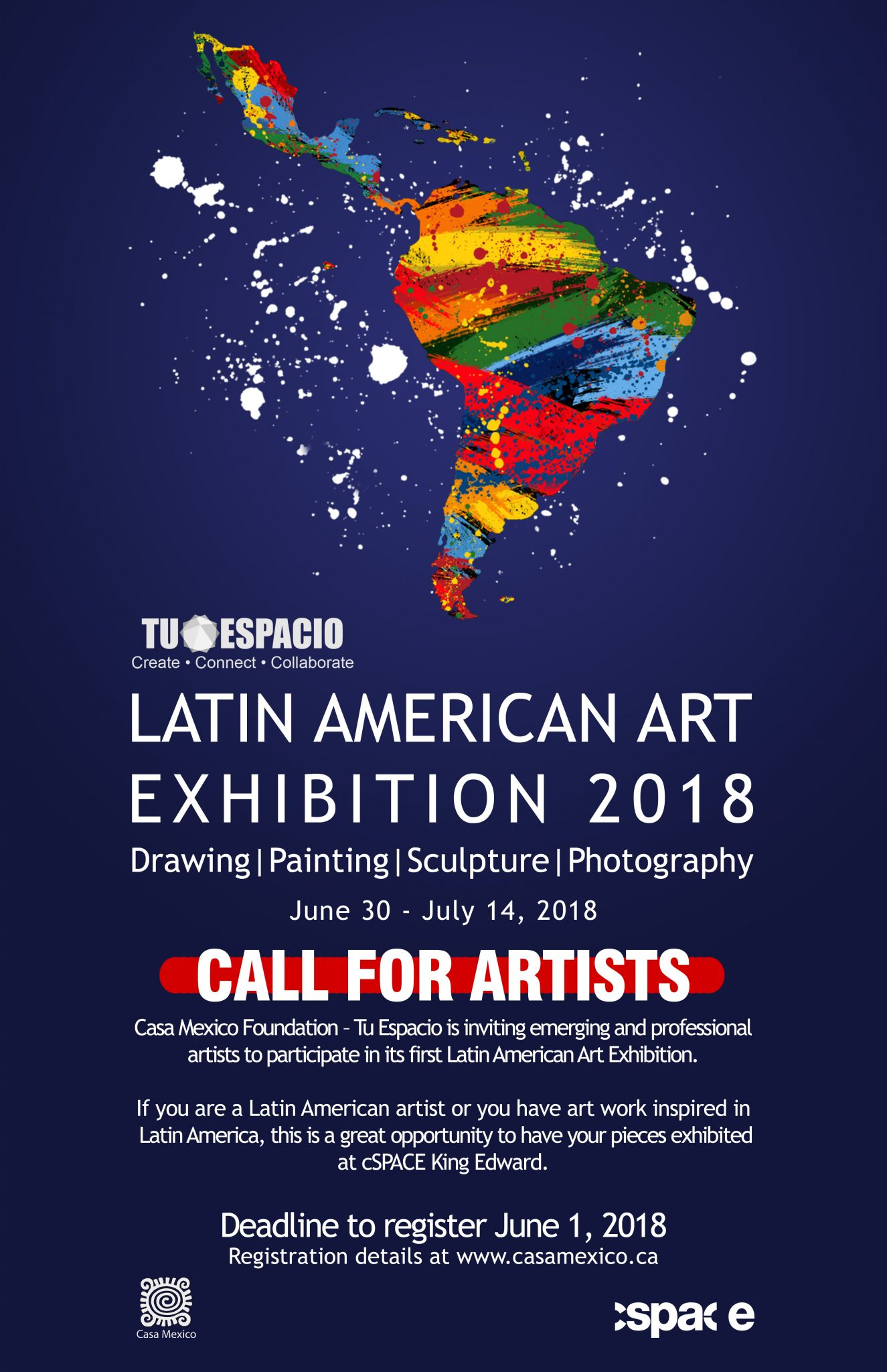 Latin American Art Exhibition 2018 CALL FOR ARTISTS (1