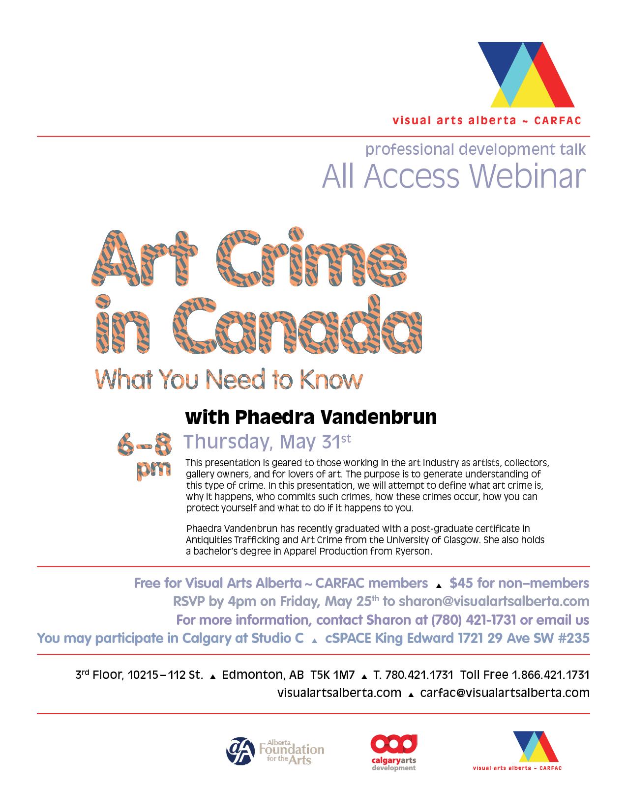 Art Crime in Canada