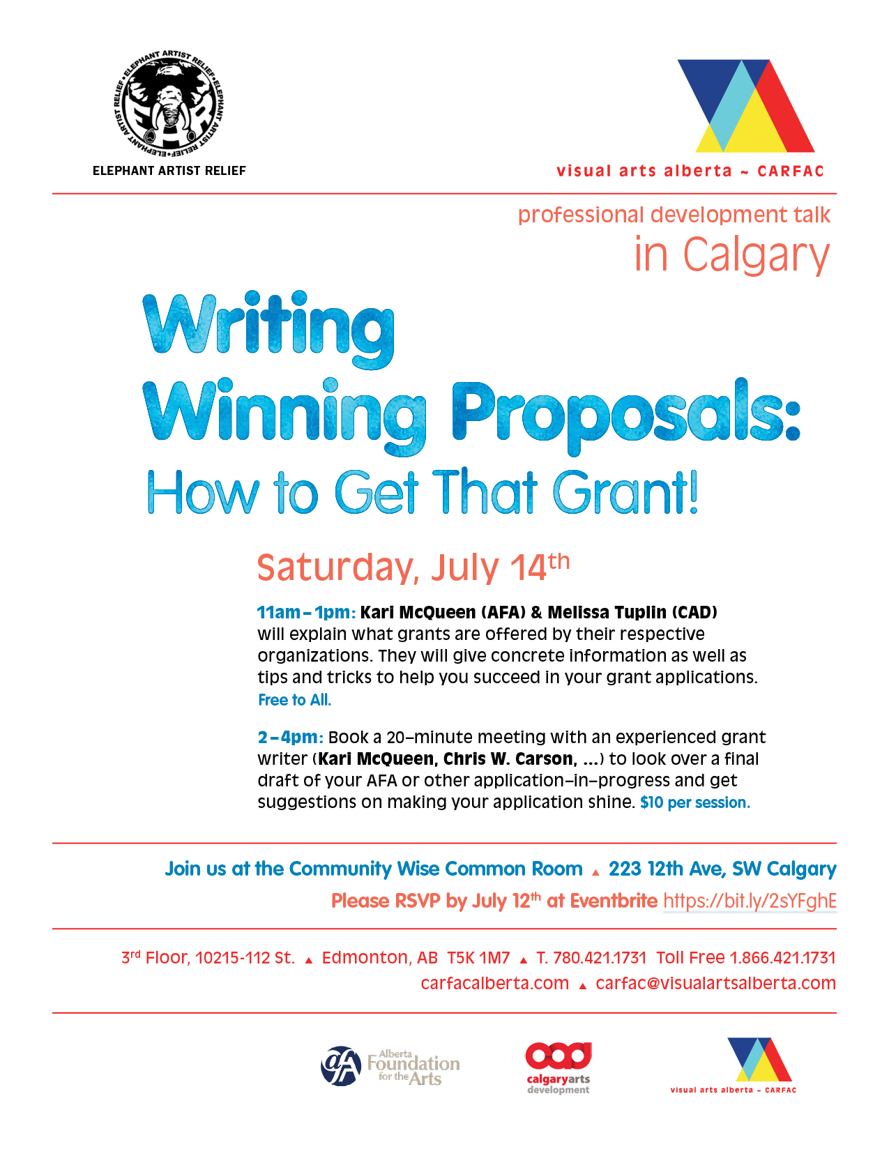 Calgary | Writing Winning Proposals: How to Get That Grant
