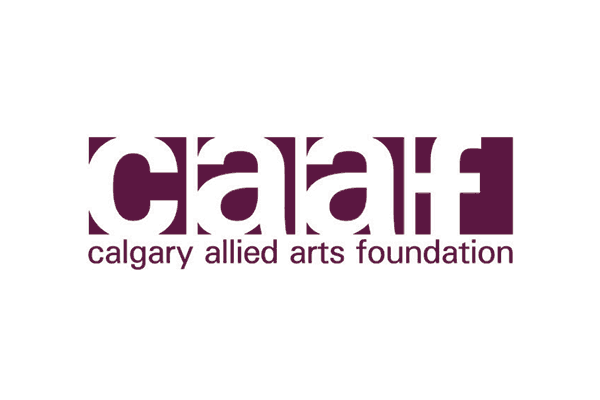 Calgary Allied Arts Foundation logoi