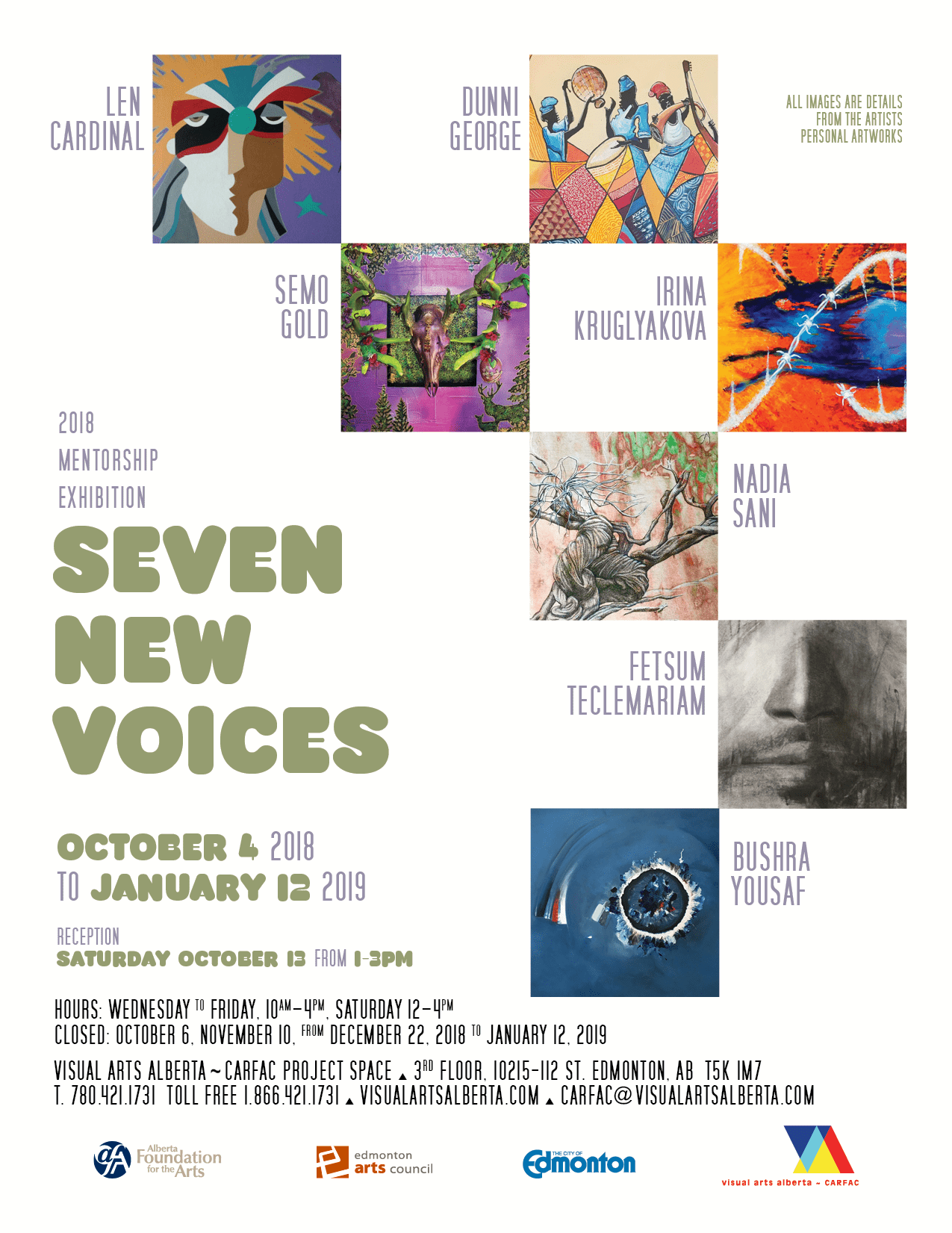 Seven New Voices