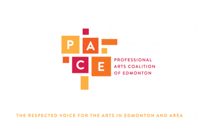 Professional Arts Coalition of Edmonton (PACE) logo