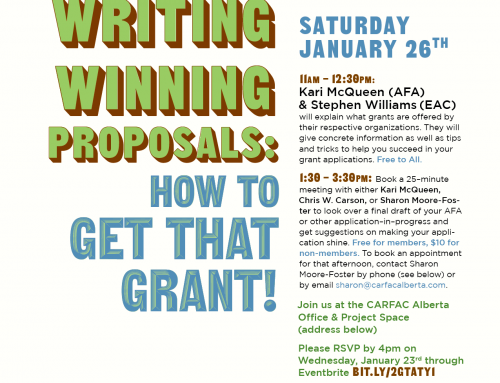 Edmonton | Writing Winning Proposals: How to Get That Grant!
