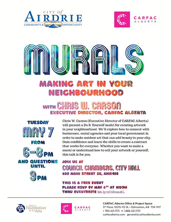 Murals : Making Art in Your Neighbourhood