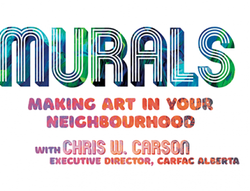 Airdrie Professional Development | Murals: Making Art in Your Neighbourhood