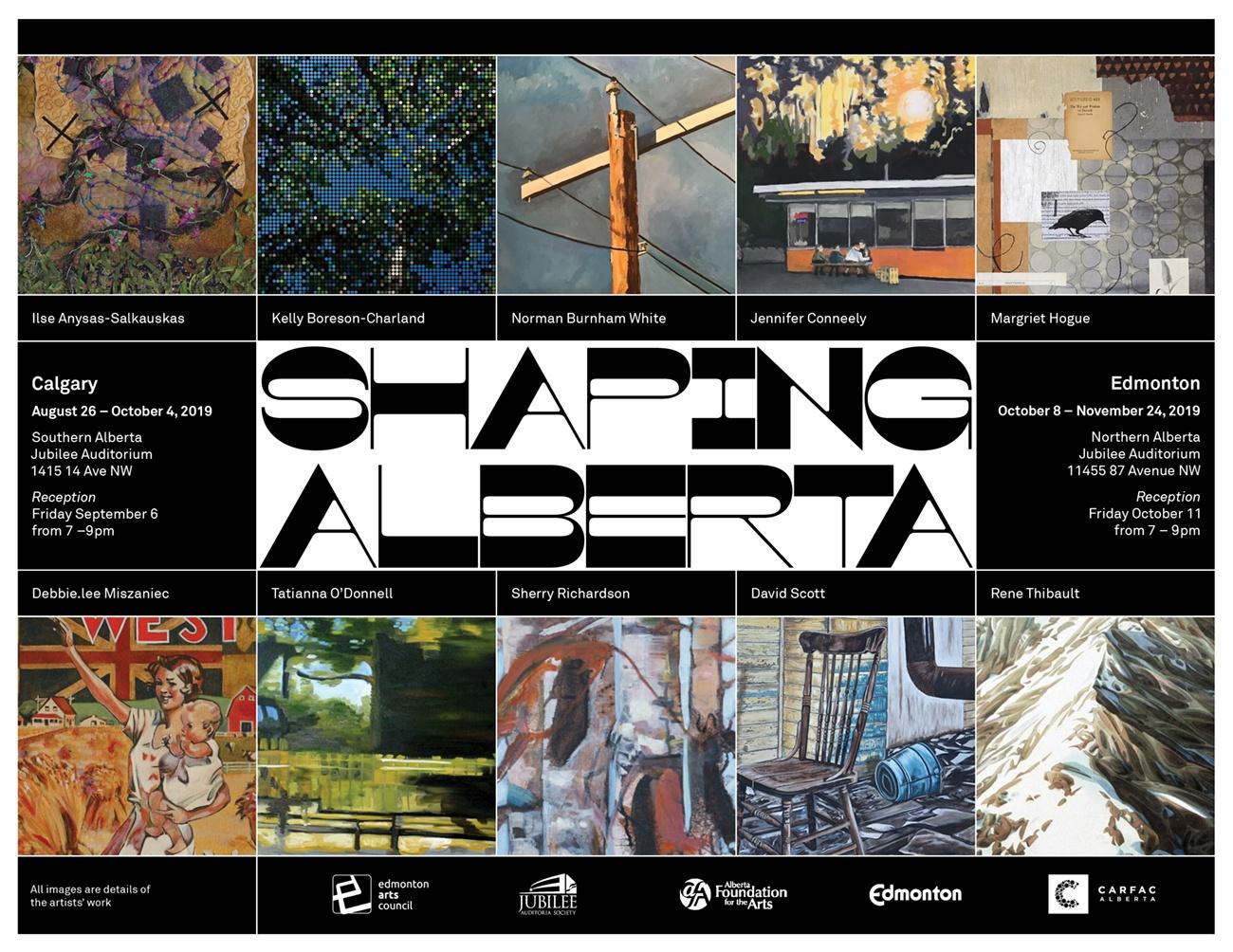 Shaping Alberta Poster