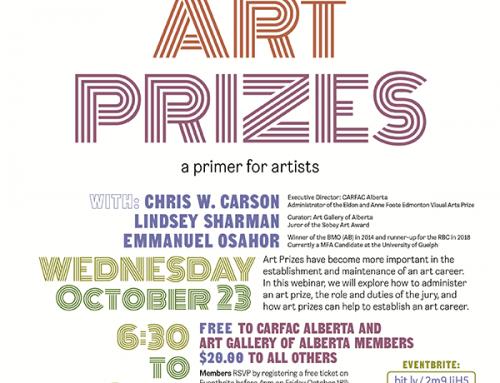 Webinar | Art Prizes