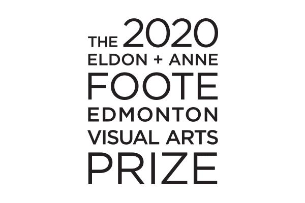 The 2020 Eldon + Anne Foote Edmonton Visual Arts Prize logo