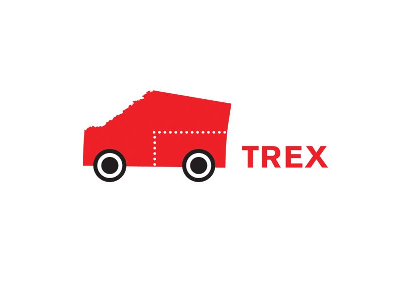 TREX logo NW