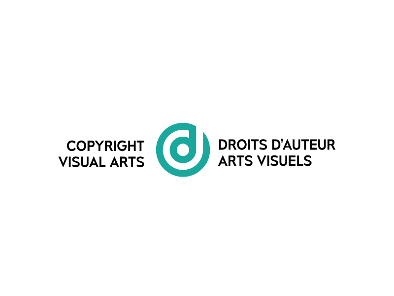 Logo for Copyright Visual Arts : Droit d'auteur Arts Visuel