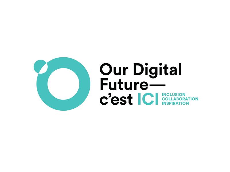 Our Digital Future – C'est ICI logo