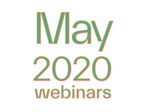 Online All–Access, Socially–Distanced Learning | Two May Webinars