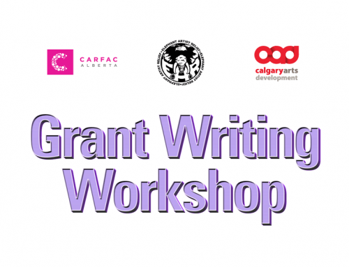 Online All Access | Grant Writing Workshop with Calgary Arts Development