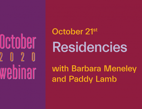 Online All Access | Residencies : What to Look for in a Residency, What Makes a Good Residency, How a Residency Can Change Your Art Career