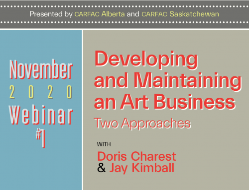Online All-Access | November Webinars: Developing and Maintaining an Art Business