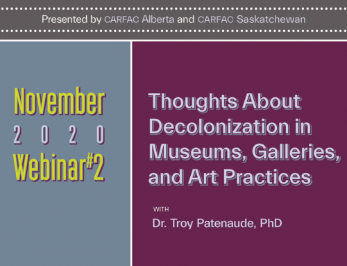 Online All-Access | November Webinars: Thoughts about Decolonization in Museums, Galleries, and Art Practices