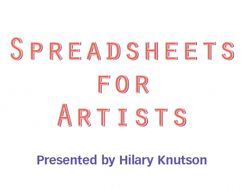 Online All Access | Spreadsheets for Artists Zoom Engagement—February 6