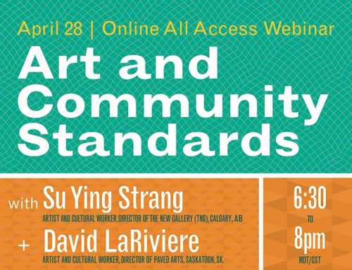 Online All Access | Webinar: Art and Community Standards